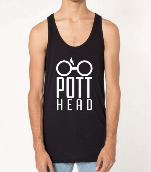 Harry Potter Pott Head Unisex Adult Tank Top