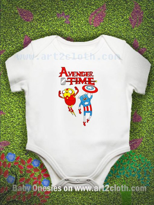 Adventure Time The Deranged Thoughts Glitch Baby Onesie