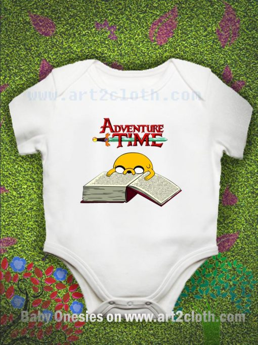 Adventure Time To Study Baby Onesie