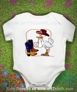 Baby Cowboy Baby Onesie