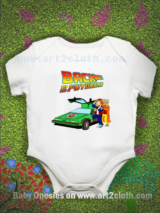 Back To The Futurama Baby Onesie