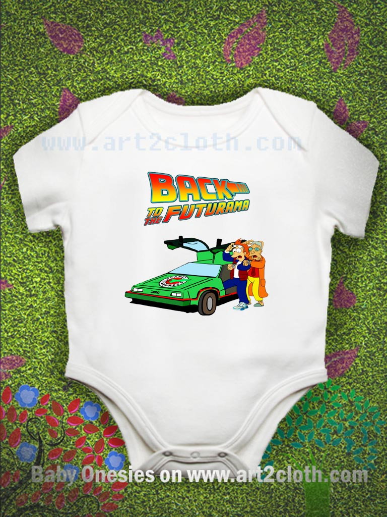 ae5d65b02 Back To The Futurama Baby Onesie