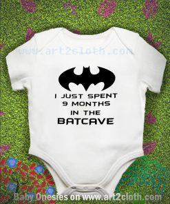 Funny Quote Batman Baby Onesie