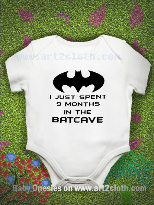 Funny Quote Batman Baby Onesie