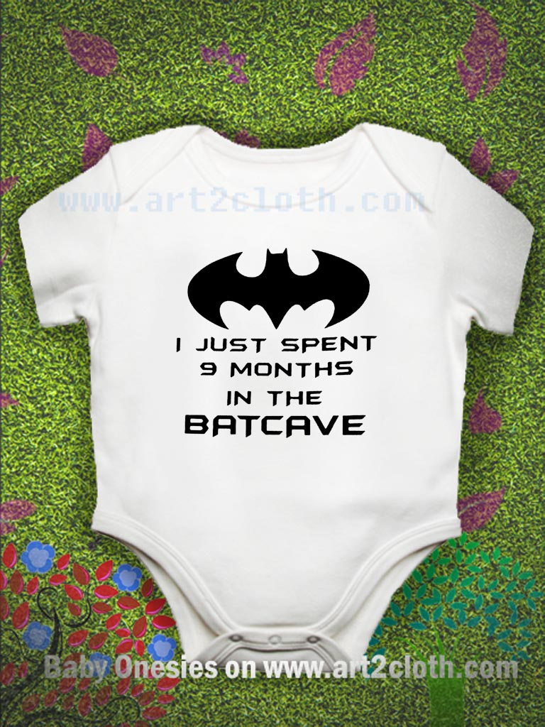 1c24ac31272 Funny Quote Batman Baby Onesie