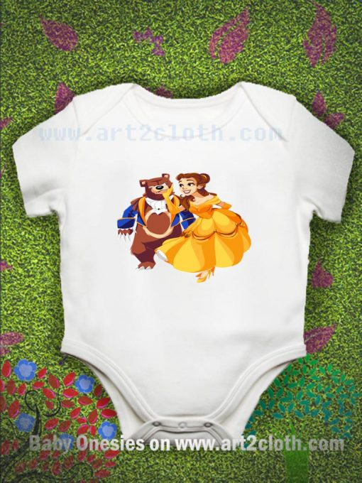 Bear Our Guest Baby Onesie