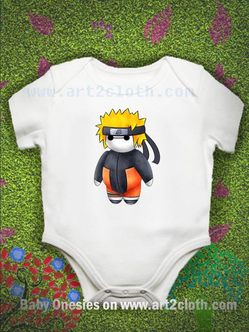 Baymax As Naruto Baby Onesie