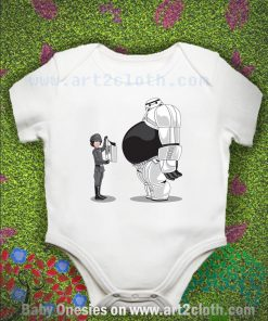 Baymax Big Trooper Baby Onesie