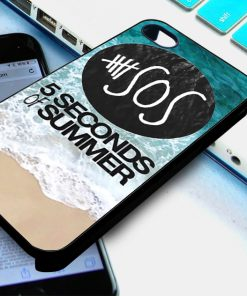 5 Second of Summer The Beach iPhone and Samsung Cases