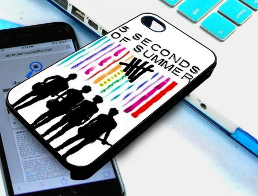 5 SOS Colorful iPhone and Samsung Cases