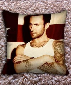 Adam Levine Tattoo Pillow Case