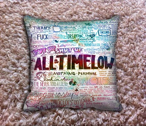 All Time Low Pillow Case