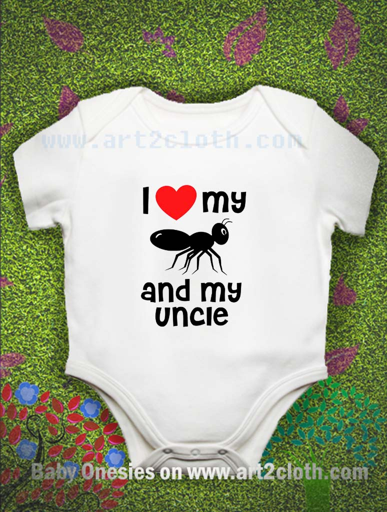 Aunt and Uncle Baby Outfits and Shirts - Liv & Co.