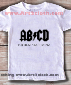 Kids Clothes Funny Quote Alfabet Punk Rock
