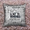 A Day to Remember Lyric Pillow Covers