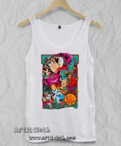Alice in Wonderland Unisex Adult Tank Top