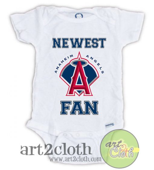 Anaheim ANGELS FAN Baby Onesie