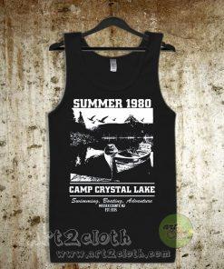 Camp Crystal Lake Unisex Adult Tank Top