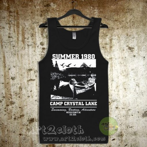 Camp Crystal Lake Unisex Adult Tank Top