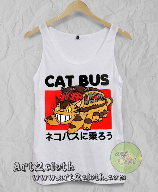 My Neighbor Totoro Cat Bus Unisex Adult Tank Top
