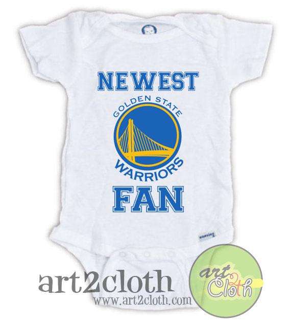 Golden State Warriors FAN Baby esie