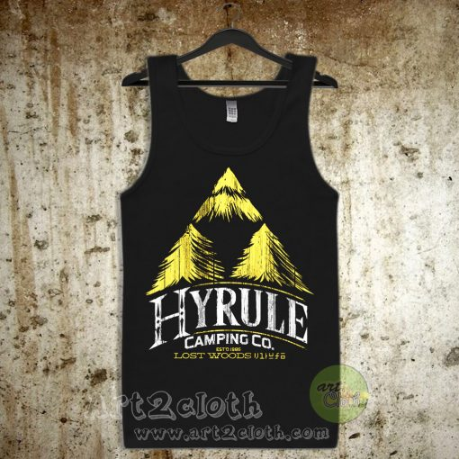 Hyrule Camping Company Unisex Adult Tank Top
