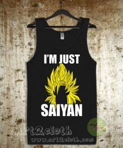 I'm Just Saiyan Unisex Adult Tank Top