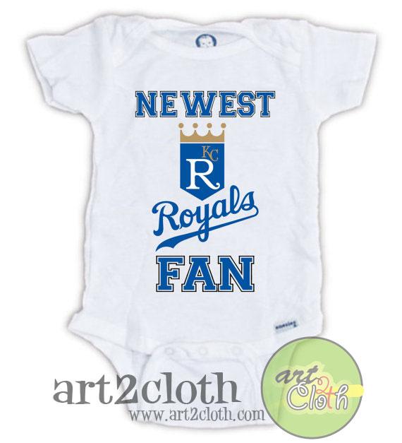 Kansas city royals fan baby onesie cheap custom t shirts for Custom shirts kansas city
