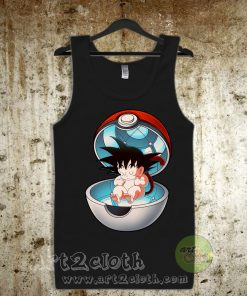 Pocket Saiyan Unisex Adult Tank Top