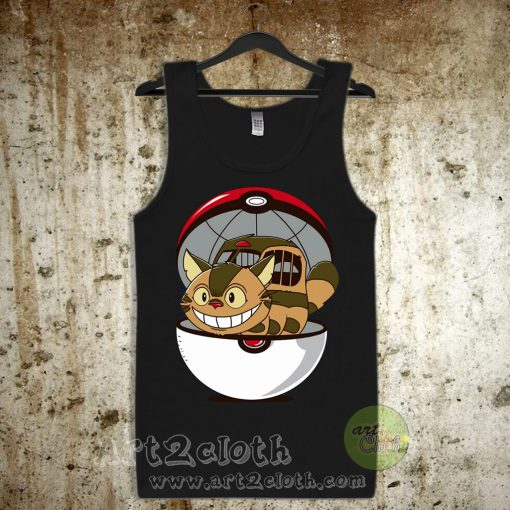 Pokecatbus Unisex Adult Tank Top
