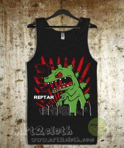 Reptar Rugrats Unisex Adult Tank Top