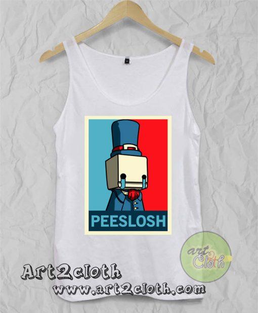 Peeslosh Unisex Adult Tank Top