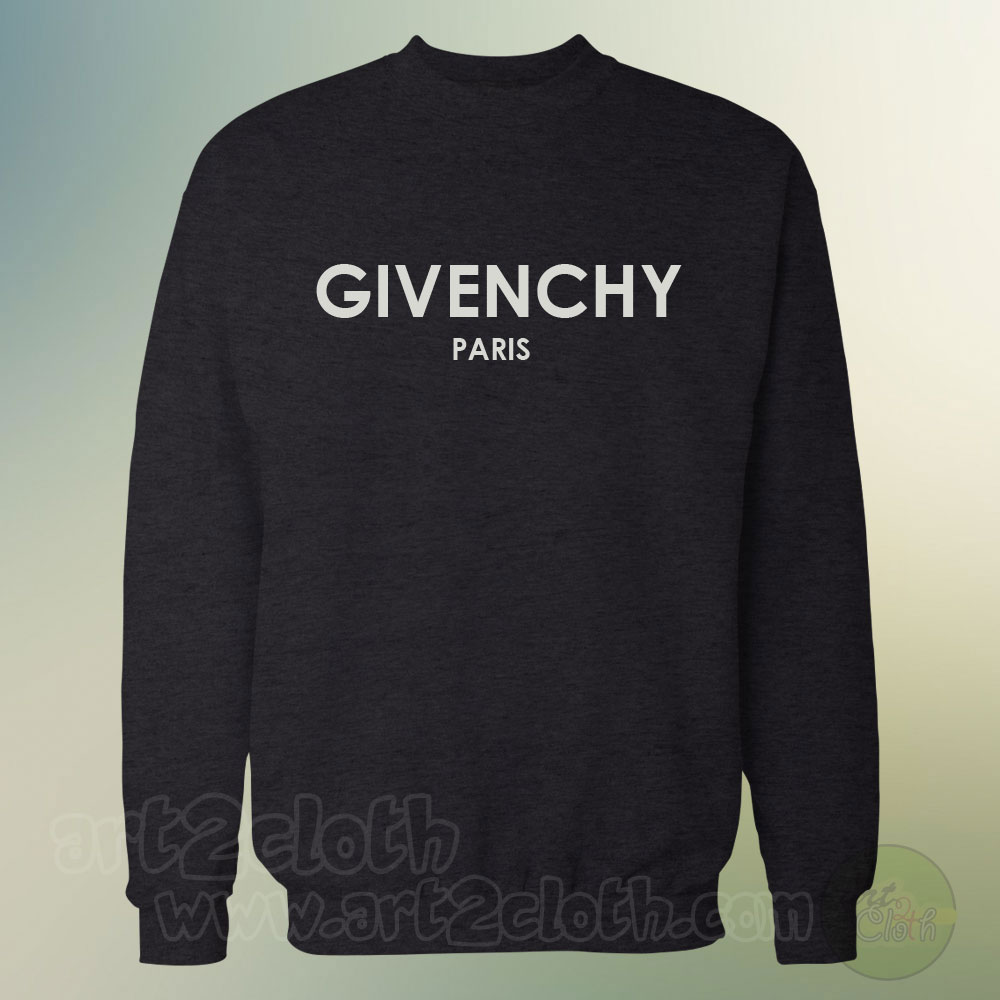 givenchy paris unisex sweatshirts cheap custom t shirts. Black Bedroom Furniture Sets. Home Design Ideas