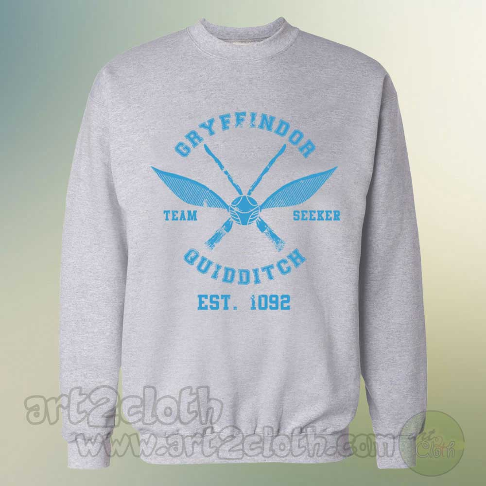 Hogwarts harry potter quidditch unisex sweatshirts cheap for Custom shirts and hoodies cheap