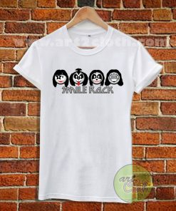 Kiss Parody Smile Rock T Shirt