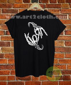 Korn Band Skeleton T Shirt