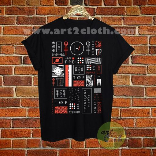 Twenty One Pilots Album Cover T Shirt