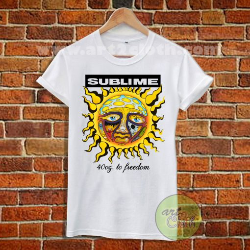 Sublime To Freedom T Shirt