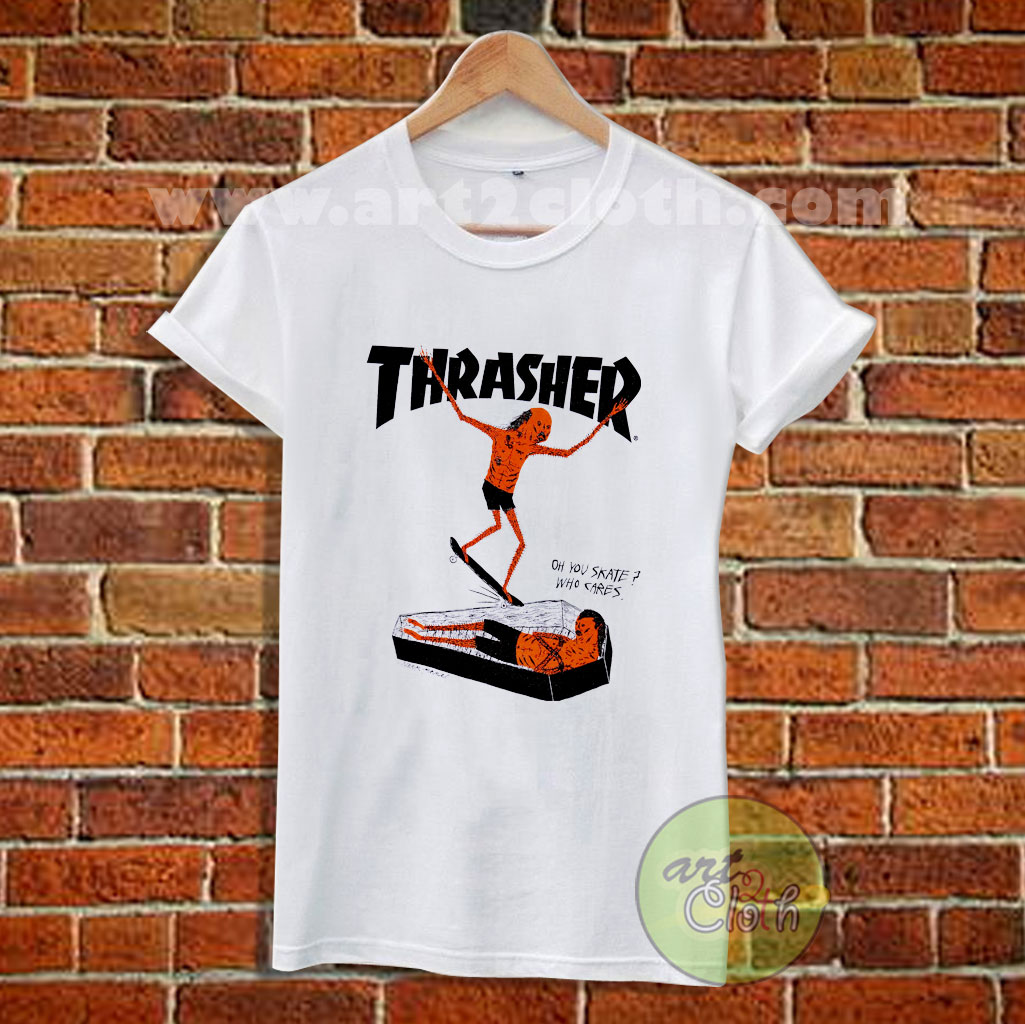 Thrasher Neck Face T Shirt Size XS 55076feac0