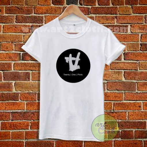 Twenty One Pilots Logo Hand T Shirt
