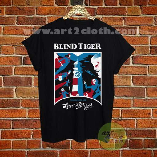 Blind Tiger Band Cover T Shirt