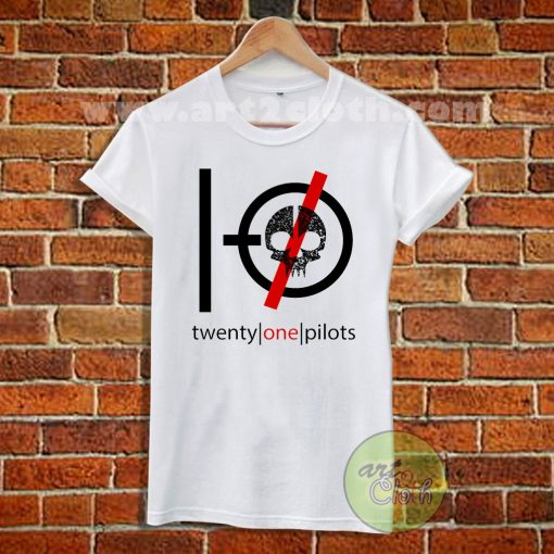 Twenty One Pilots Skeleton T Shirt