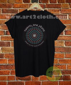 Twenty One Pilots Symbol Text T Shirt