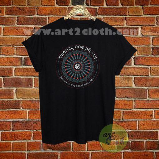 Twenty One Pilots Symbol Text T Shirt