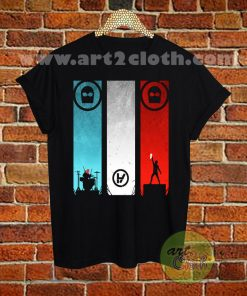 Twenty One Pilots Music Band T Shirt