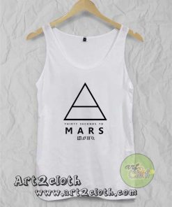 30 Seconds to Mars Unisex Adult Tank Top