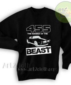 455 The Number of the Beast Unisex Sweatshirts