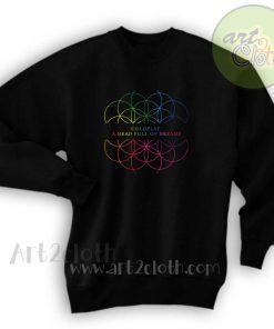 A Head Full Of Dreams Unisex Sweatshirts