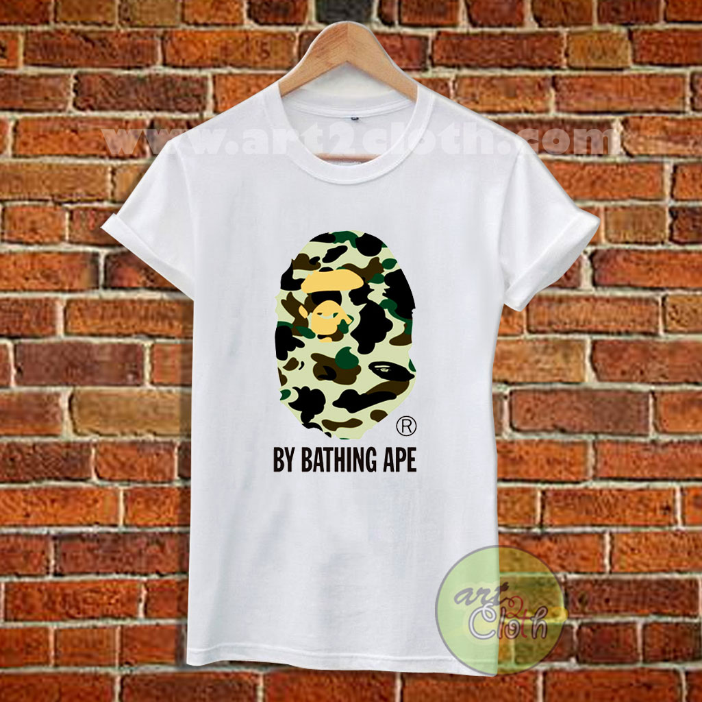 Army By Bathing Ape T Shirt Size Xs S M L Xl 2xl 3x