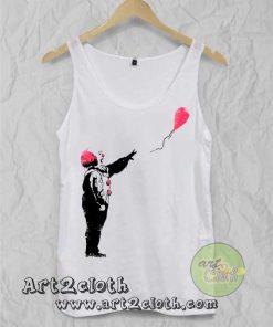 Balloon Clown Unisex Adult Tank Top